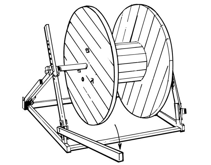 Mechanical Lift Cable Jack 1000kg