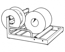 A3 Cable Roller - 85kg 3-Rollers