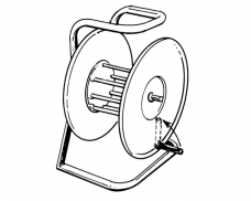 FS Special Storage Reel (Folding Handle)