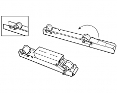 PPR1 Portable Payoff Rollers (Pair)-Schematic
